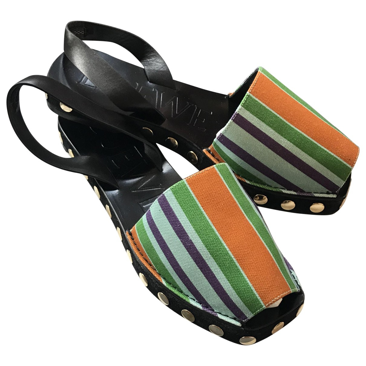 Loewe \N Multicolour Leather Sandals for Women 39 EU