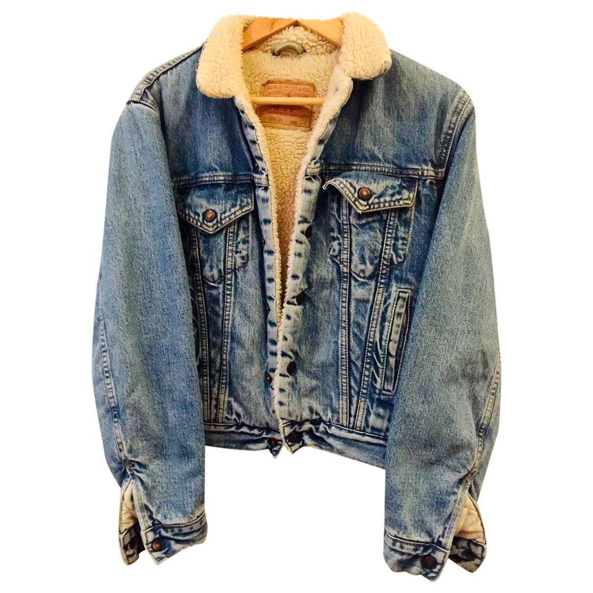 Levi's Vintage Clothing \N Blue Denim - Jeans jacket for Women S