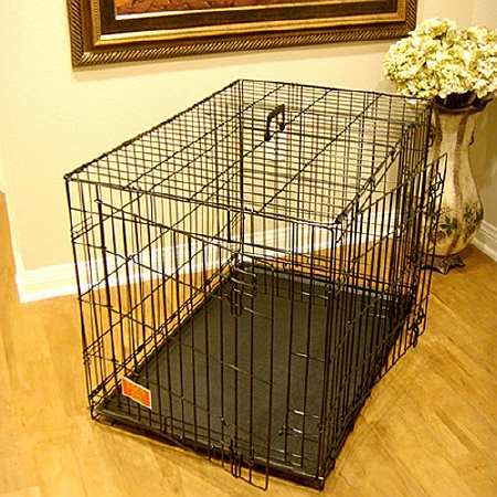 Majestic Pet Products Double Door Folding Dog Crate Cage Large, 42 inch - 1.0 ea