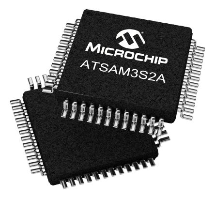 Microchip ATSAM3S2AA-AU, 32bit ARM Cortex M3 Microcontroller, SAM3S, 64MHz, 128 kB Flash, 48-Pin LQFP (2)