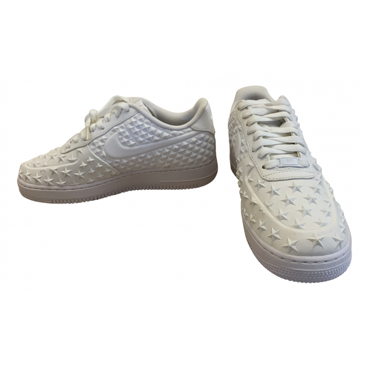 Nike Air Force 1 White Rubber Trainers for Men 42 EU