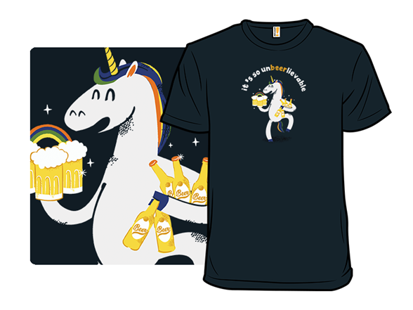 So Unbeerlievable T Shirt