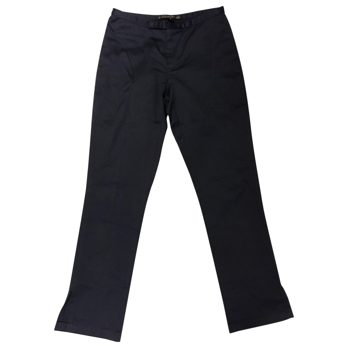 Ralph Lauren \N Blue Cotton Trousers for Women 2 US