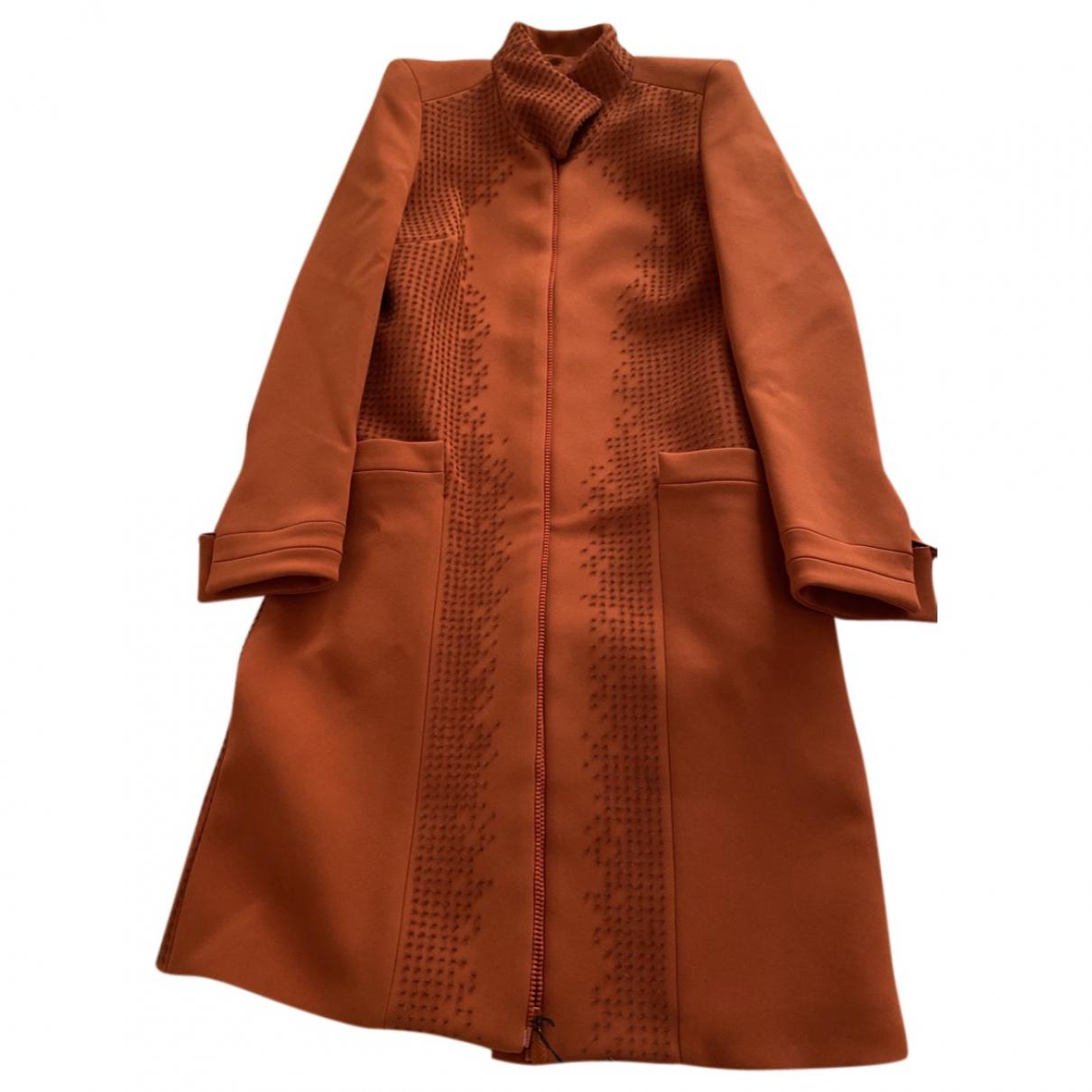 Bottega Veneta \N Orange coat for Women 42 IT