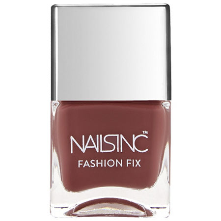 NAILS INC. Fashion Fix Nail Polish, One Size , Brown
