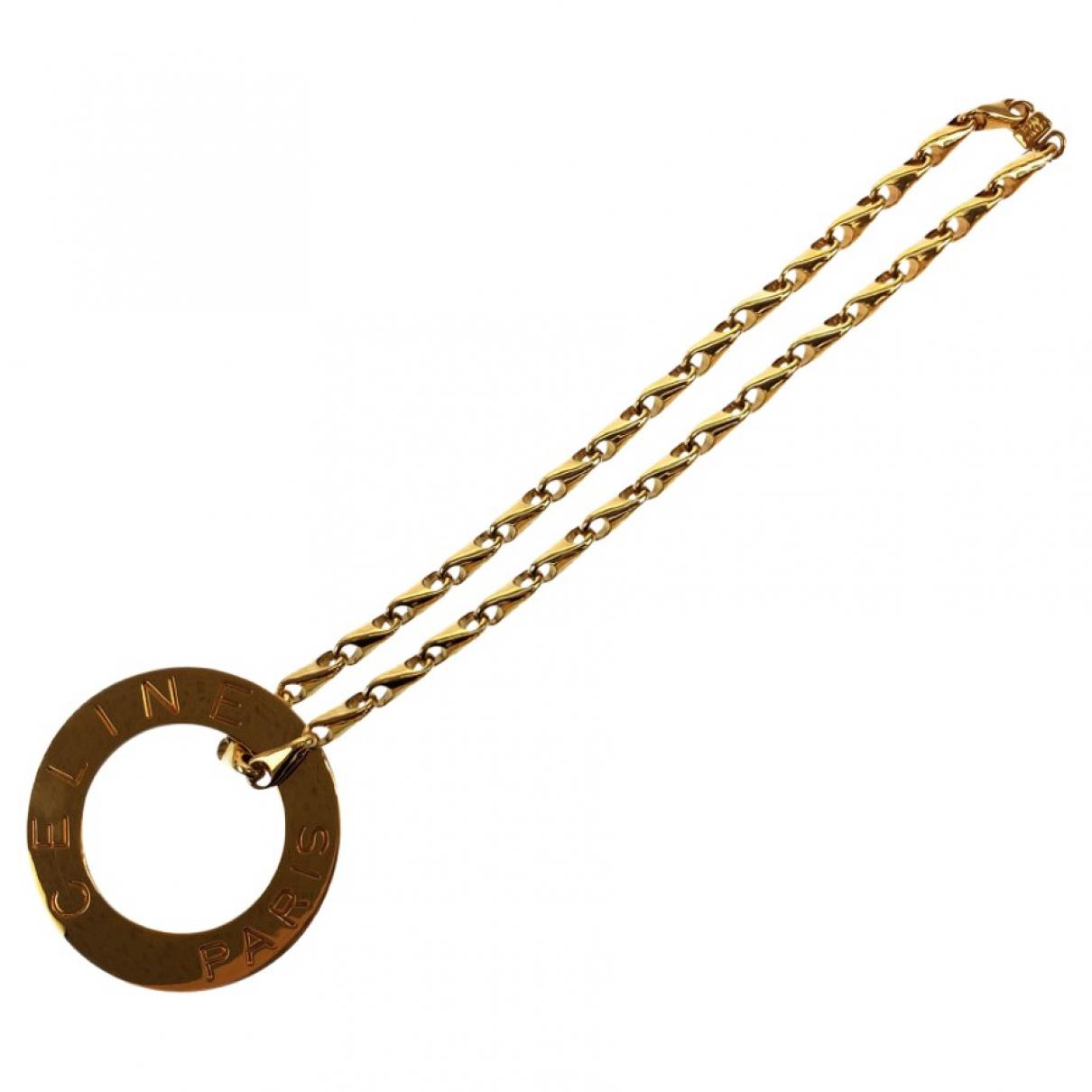 Celine \N Metal necklace for Women \N