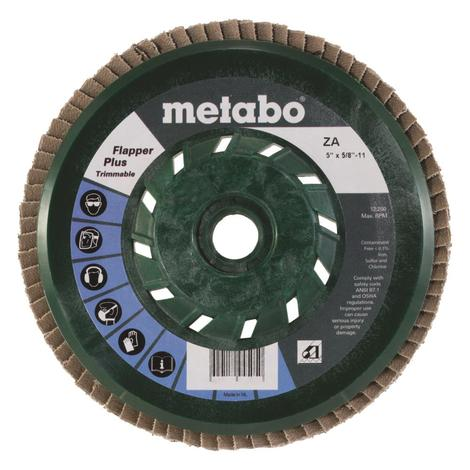Metabo 5 In. Flapper Plus 40 5/8 In.-11 T29 Trimmable (Pb)