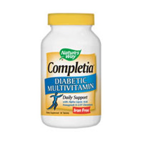 Completia Diabetic 60 Tabs by Nature's Way