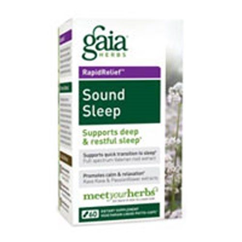 Sound Sleep 60 Caps by Gaia Herbs