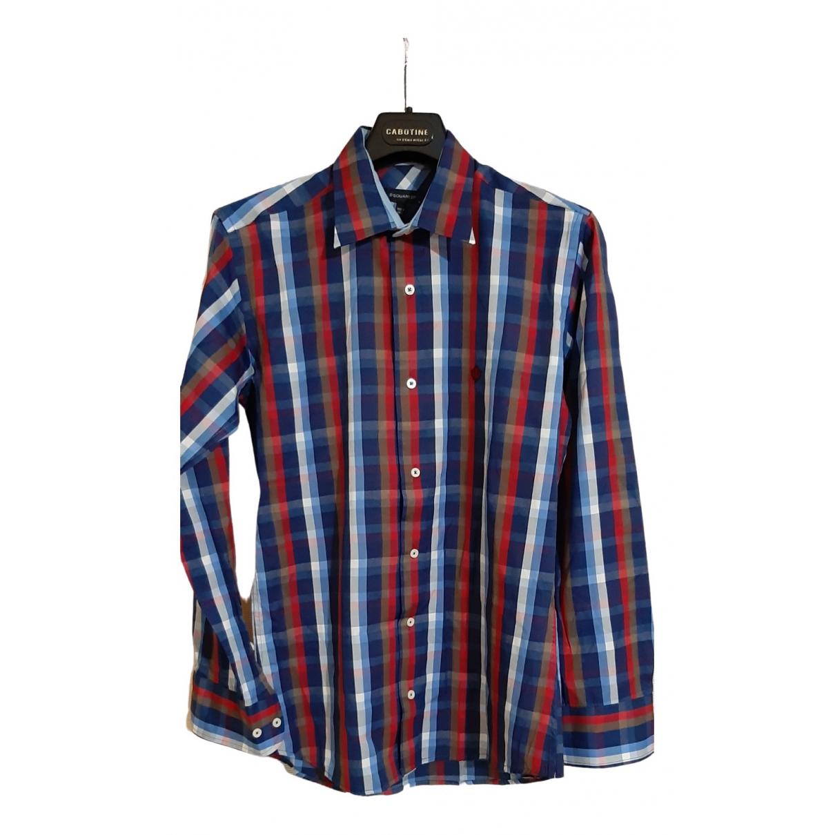 Dsquared2 \N Multicolour Cotton Shirts for Men S International