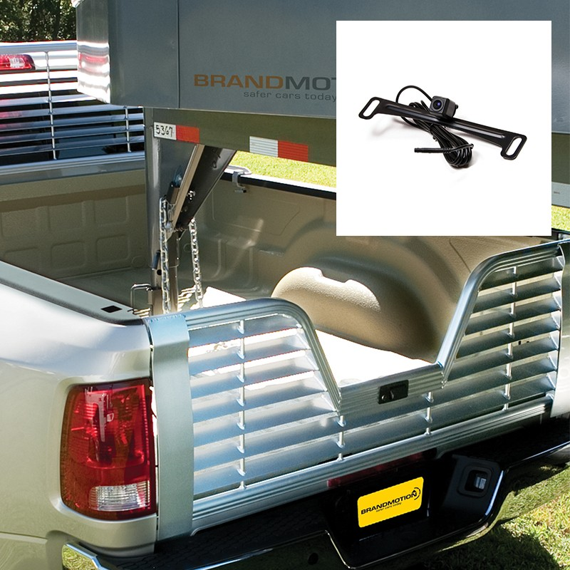 Brandmotion 9002-7453 Factory Tailgate Harness with Dual Mount Camera Ram 17-19