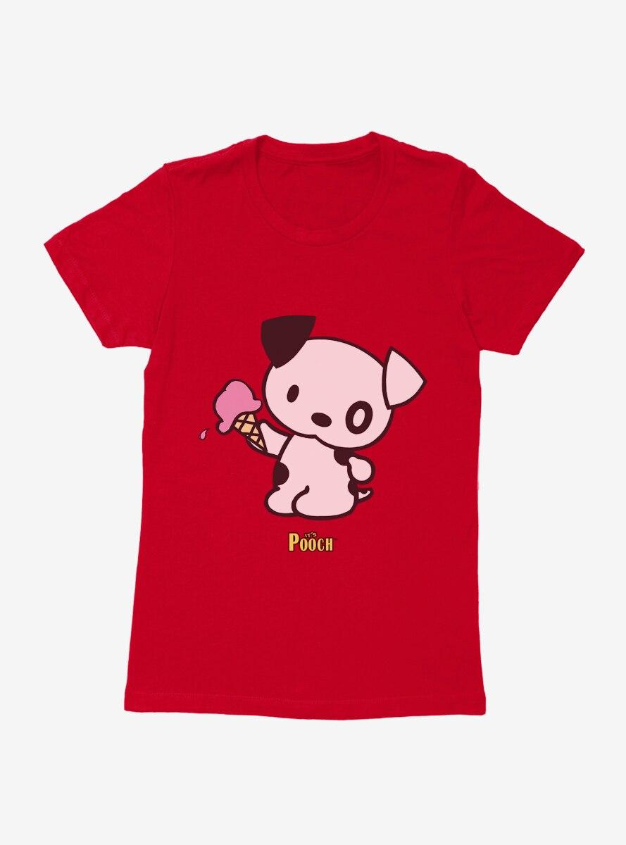It's Pooch Ice Cream Womens T-Shirt