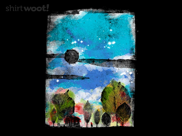 Little House In The Woods T Shirt