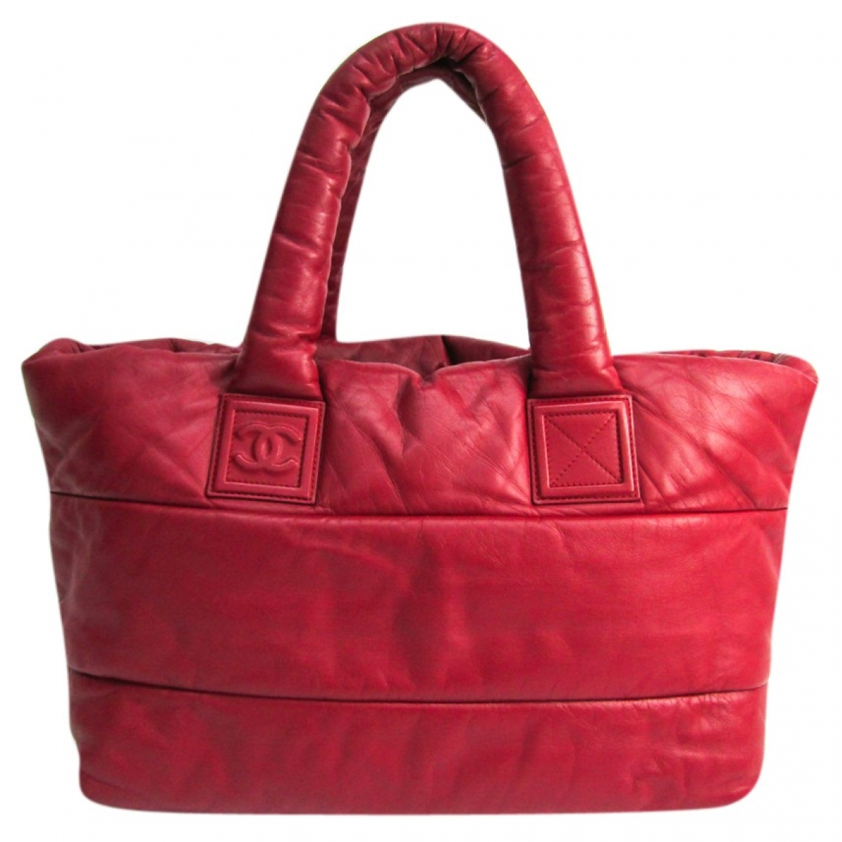 Chanel Coco Cocoon Red Leather handbag for Women \N