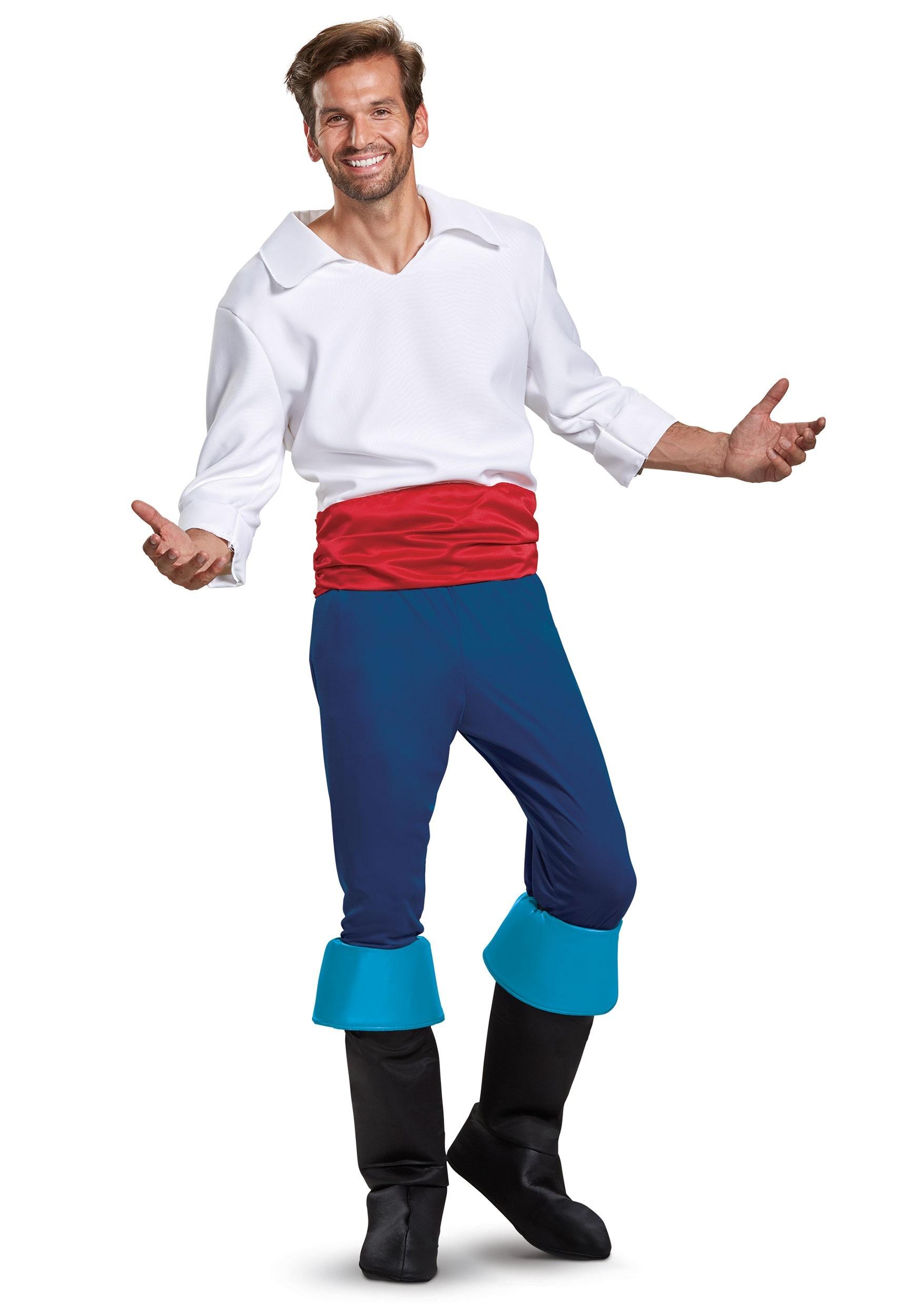 Disney Prince Eric Deluxe Costume for Men