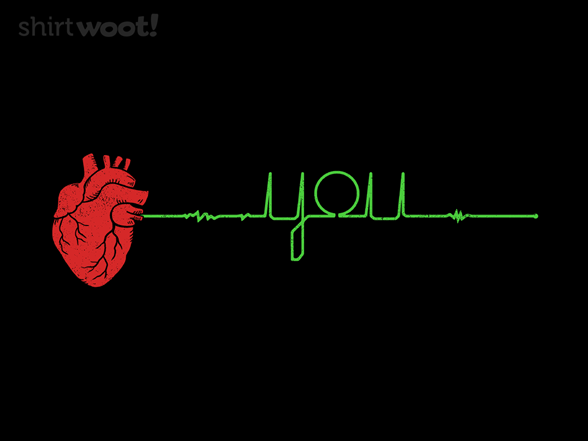 My Heart Beats For You T Shirt
