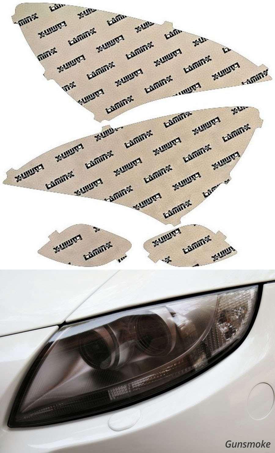 Hyundai Genesis Coupe 09-12 Gunsmoke Headlight Covers Lamin-X HY011G