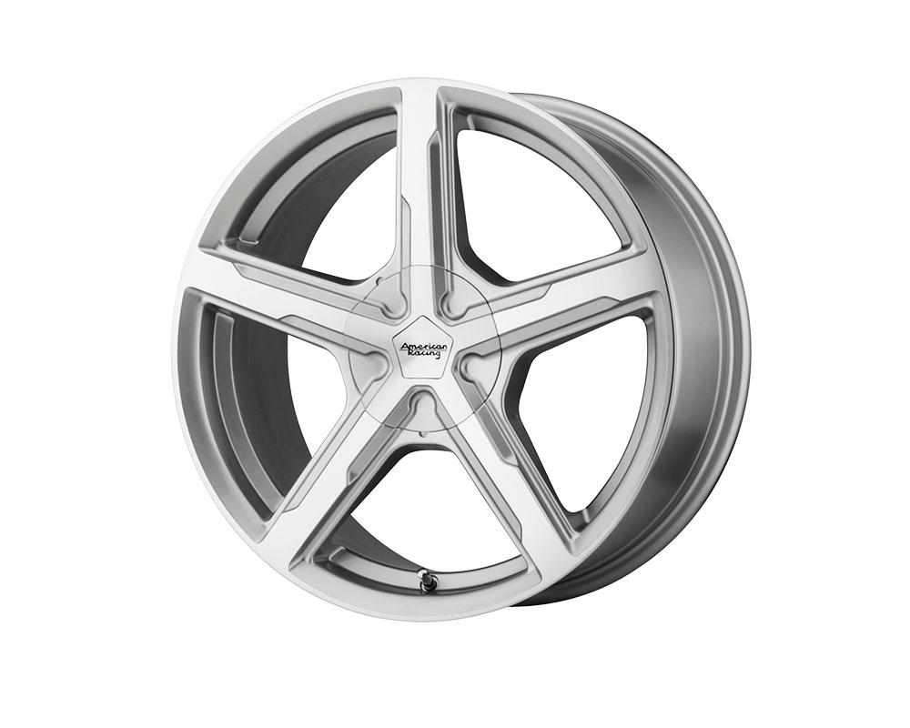 American Racing AR921 Trigger Wheel 15x7 5x5x108/5x114.3 +35mm Silver Machined