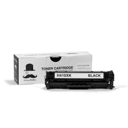 Compatible HP 305X CE410X cartouche de toner noire haute capacité - Moustache®