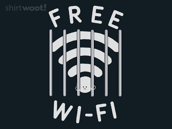Free Wi-fi T Shirt