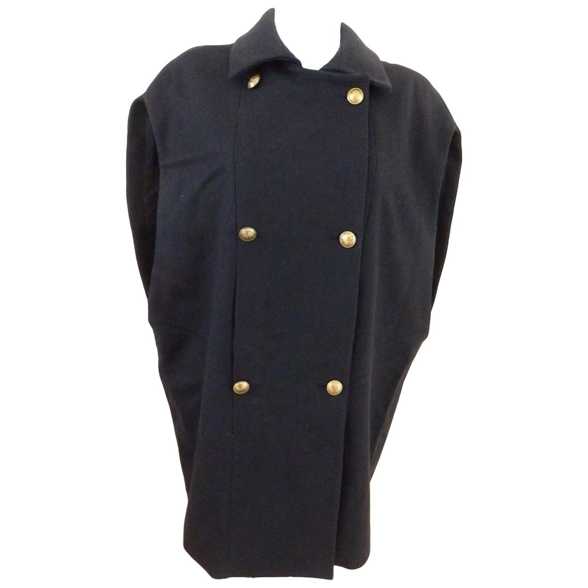 Claudie Pierlot \N Navy Wool coat for Women 3 0-5