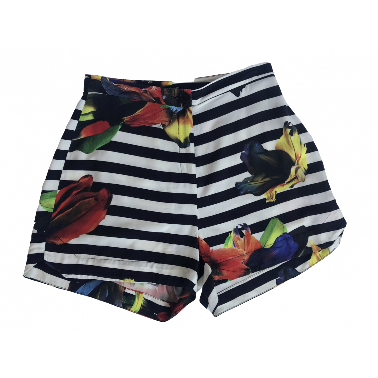 Non Signé / Unsigned \N Multicolour Shorts for Women 38 FR
