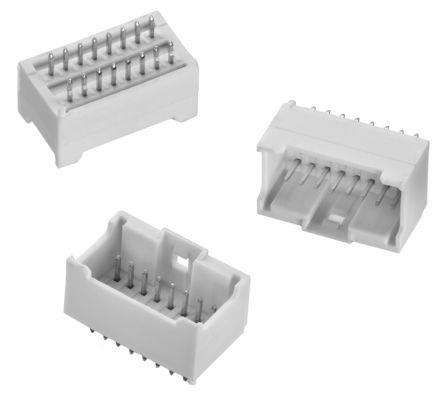 Wurth Elektronik , WR-WTB, 40 Way, 2 Row, Straight PCB Header (5)