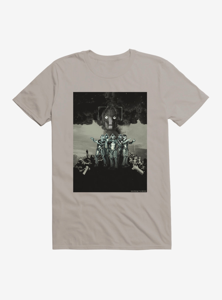 Doctor Who Cybermen Takeover T-Shirt