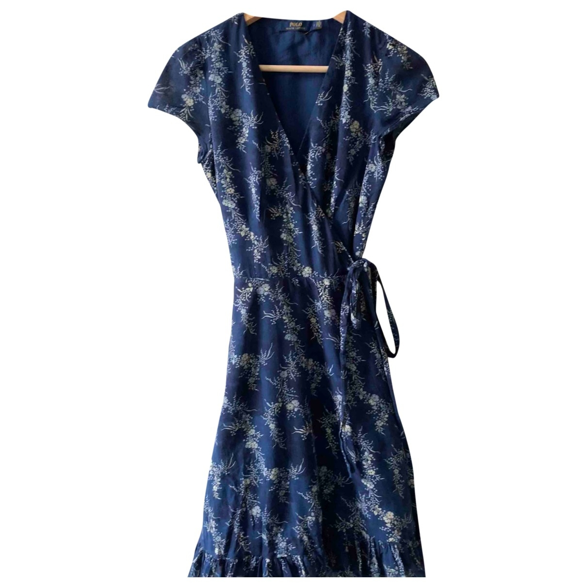 Polo Ralph Lauren \N Blue Cotton dress for Women 2 US