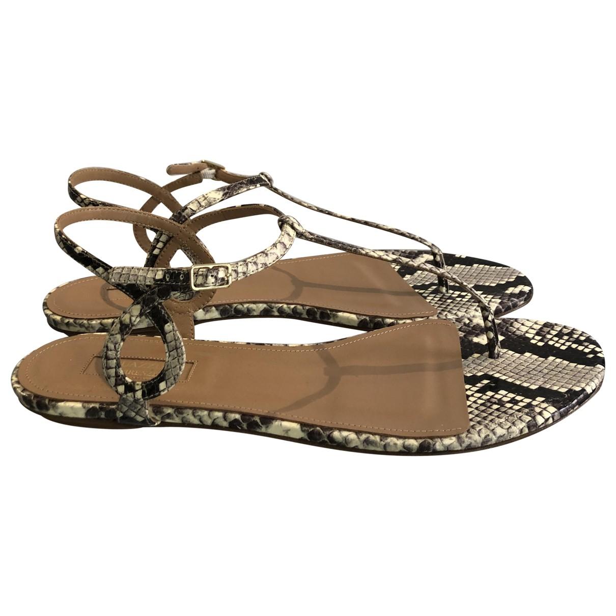 Aquazzura \N Multicolour Leather Sandals for Women 41 EU