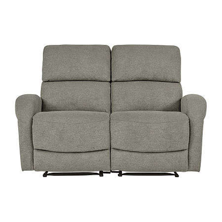 Estes 2 Seat Recliner Loveseat, One Size , Gray