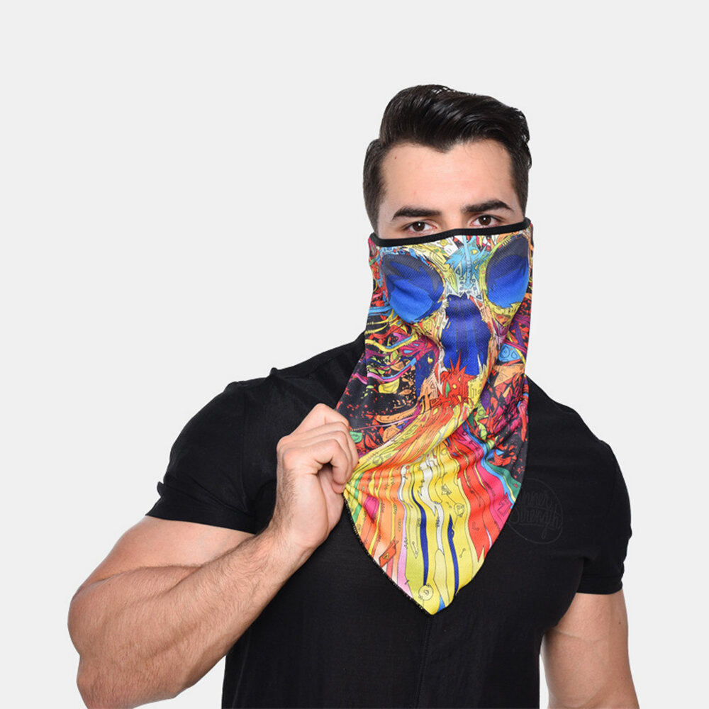 Windproof Sunscreen Quick-drying Breathable Riding Mask