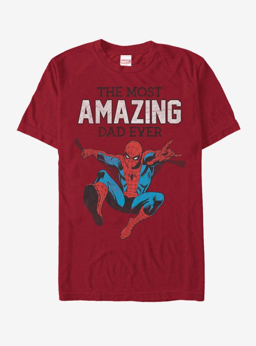 Marvel Spider-Man Amazing Dad T-Shirt