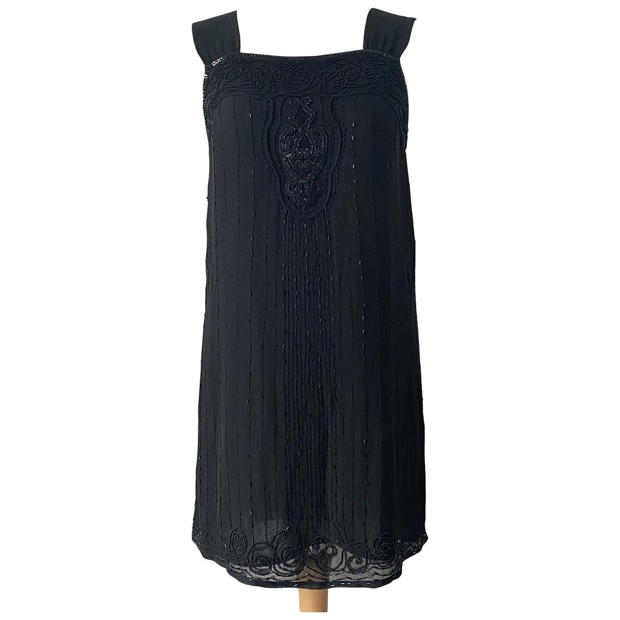 Whistles \N Black Silk dress for Women 8 UK