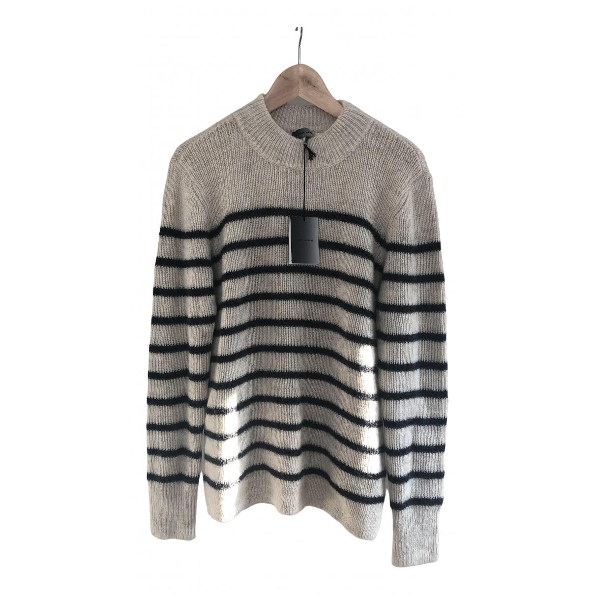 Isabel Marant \N Ecru Wool Knitwear & Sweatshirts for Men L International
