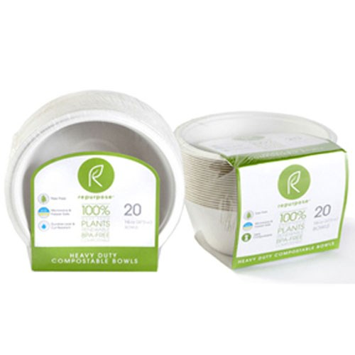 Bowls Compostable 20 Ct by Repurpose
