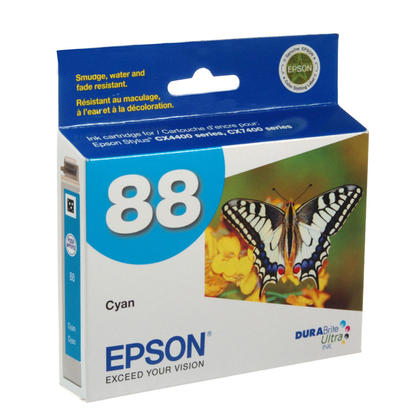Epson T088220 Original Cyan Ink Cartridge
