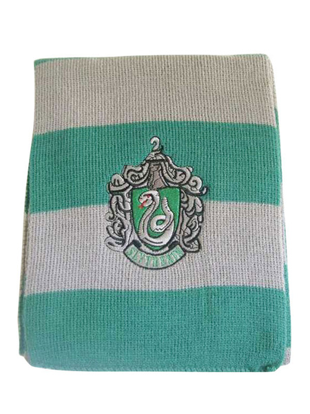 Milanoo Scarf Harry Potter Cosplay Costume Striped Cotton Accessories Halloween