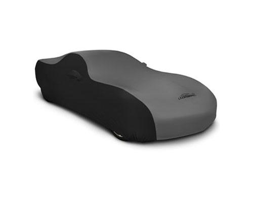 Coverking CVC4SS298SU9514 CVC4SS298 Satin Stretch 2-Tone Black Sides Grey Center Custom Car Cover Subaru Outback 2020+
