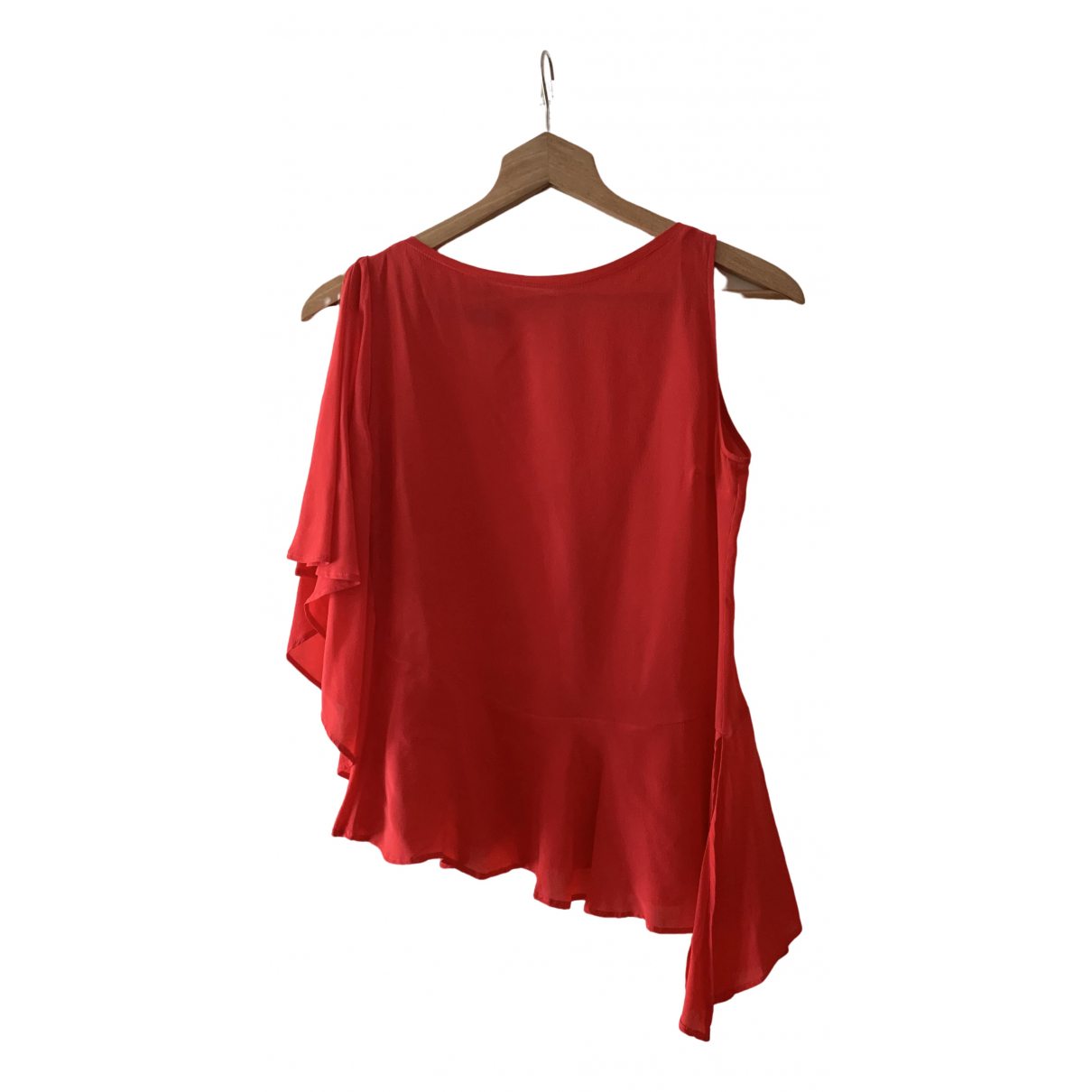 Pinko \N Red Silk  top for Women 34 FR