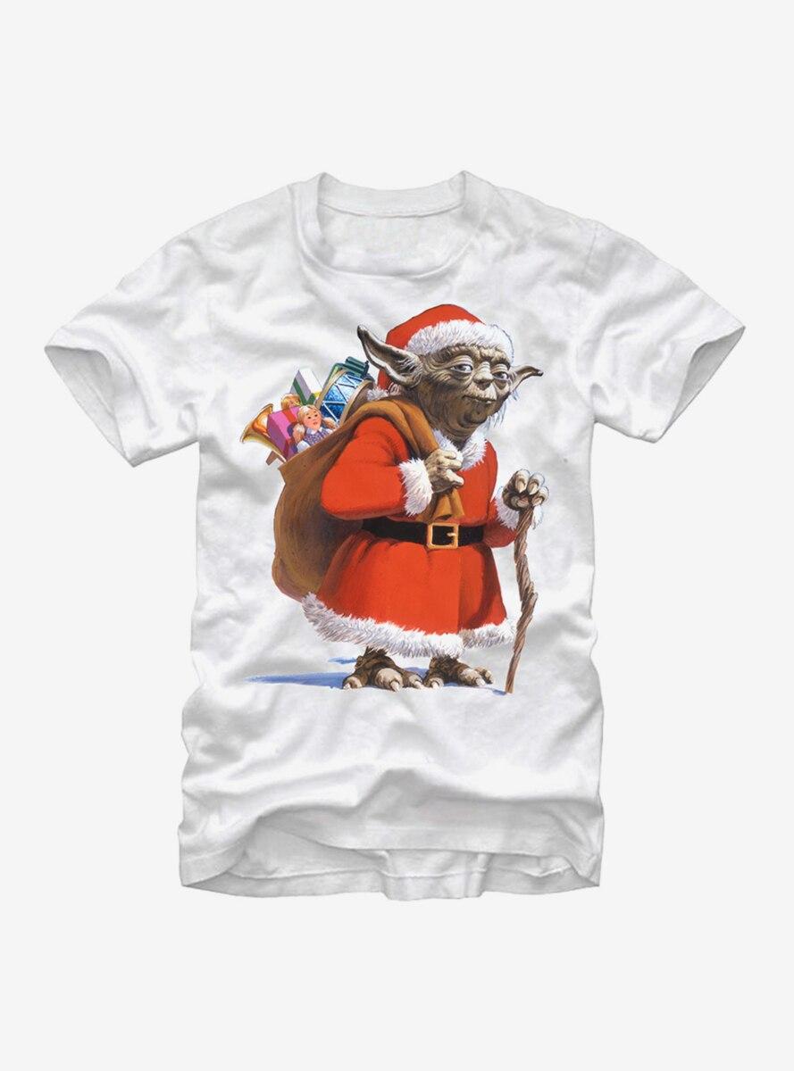 Star Wars Christmas Santa Yoda T-Shirt