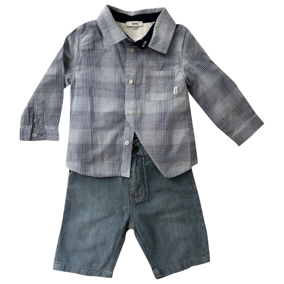Boss \N Blue Cotton Outfits for Kids 12 months - up to 74cm FR