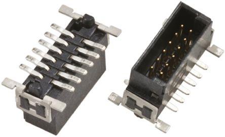 HARTING , Har-Flex, 80 Way, 2 Row, Straight PCB Header (5)