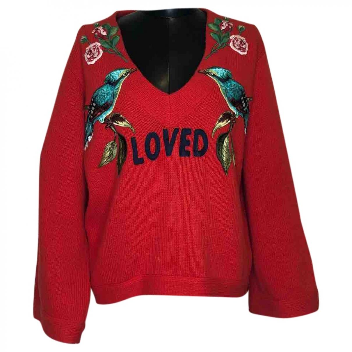 Gucci \N Red Wool Knitwear for Women XS International