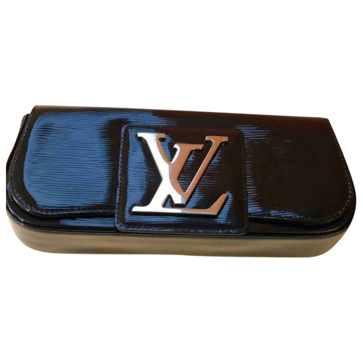Louis Vuitton Sobe Black Patent leather Clutch bag for Women \N