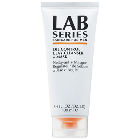 Lab Series For Men Oil Control Clay Cleanser + Mask, One Size , No Color Family