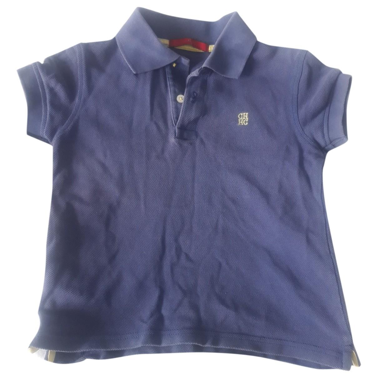 Carolina Herrera \N Blue Cotton  top for Kids 4 years - up to 102cm FR