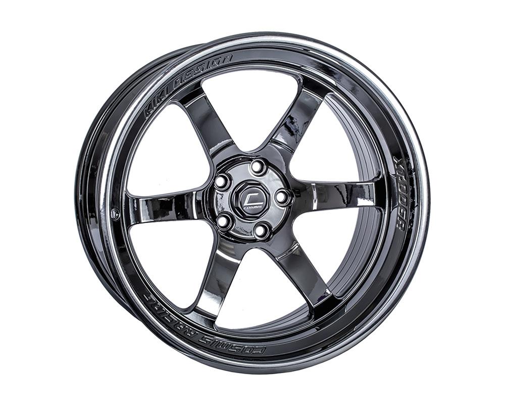 Cosmis Racing XT006R-2095-10-5x120-BC XT-006R Wheel 20x9.5 5x120 +10mm Black Chrome