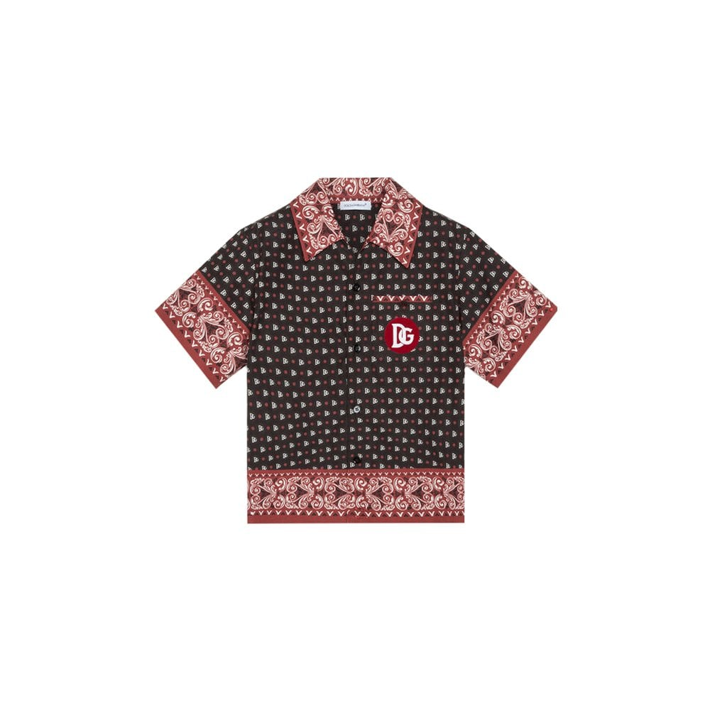 Dolce & Gabbana Kids Botton Shirt Size: 24/30, Colour: BLACK