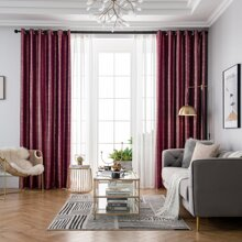 Hot Stamping Single Panel Blackout Curtain